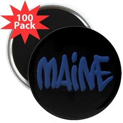 "Maine Graffiti 2.25"" Magnet (100 pack)"