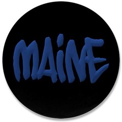 "Maine Graffiti 3.5"" Button"