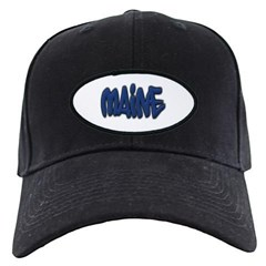 Maine Graffiti Baseball Hat