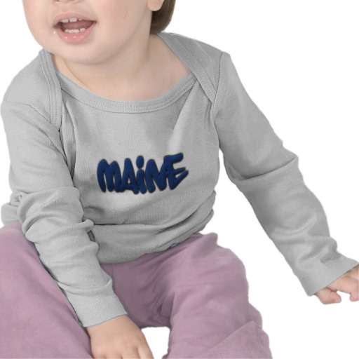 Maine Graffiti Infant Bella Long Sleeve T-Shirt