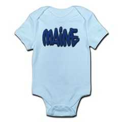 Maine Graffiti Infant Bodysuit