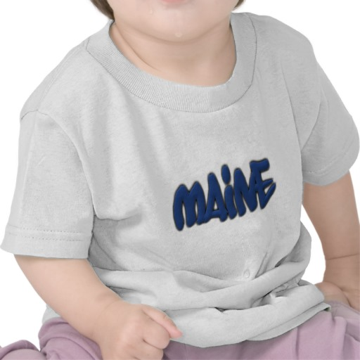Maine Graffiti Infant T-Shirt