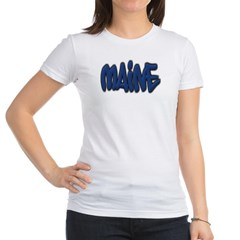 Maine Graffiti Junior Jersey T-Shirt
