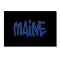 Maine Graffiti Postcards (Package of 8)