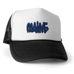 Maine Graffiti Trucker Hat