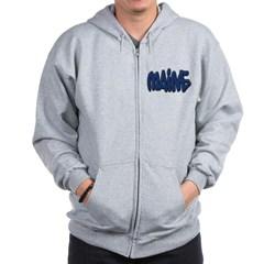 Maine Graffiti Zip Hoodie
