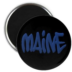 Maine in Graffiti Style Letters Magnet