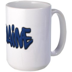Maine in Graffiti Style Letters Mug