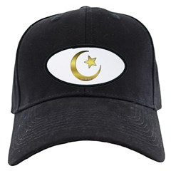 Gold Star and Crescent Baseball Hat