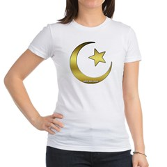 Gold Star and Crescent Junior Jersey T-Shirt