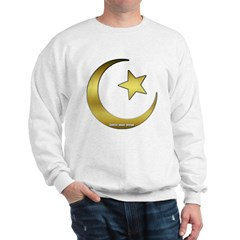 Gold Star and Crescent Sweatshirt