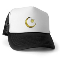 Gold Star and Crescent Trucker Hat