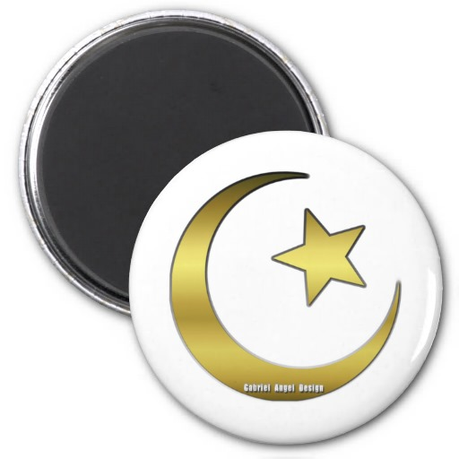 Golden Star and Crescent Magnets