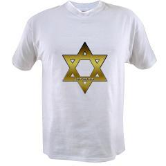 Gold Star of David Value T-shirt