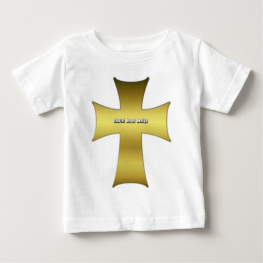 Golden Cross Baby Fine Jersey T-Shirt