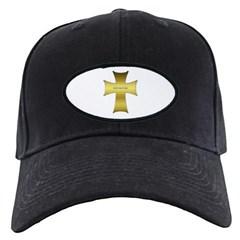 Golden Cross Baseball Hat