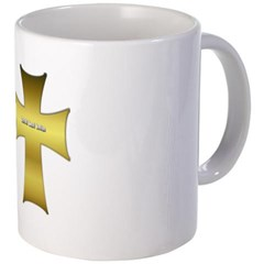 Golden Cross Coffee Mug