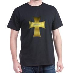 Golden Cross Dark T-shirt