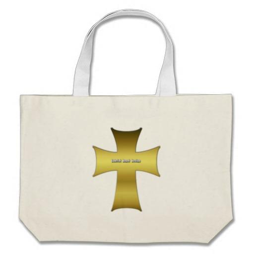 Golden Cross Jumbo Tote
