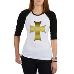 Golden Cross Junior Raglan T-shirt
