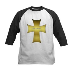 Golden Cross Kids Baseball Jersey T-Shirt