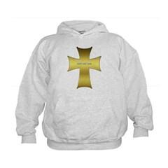 Golden Cross Kids Sweatshirt by Hanes