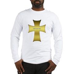 Golden Cross Long Sleeve T-Shirt