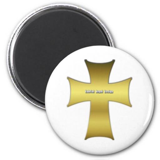 Golden Cross Magnet