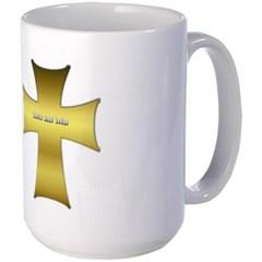 Golden Cross Mug
