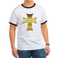 Golden Cross Ringer T-Shirt