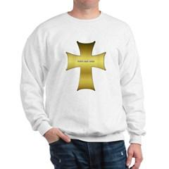 Golden Cross Sweatshirt