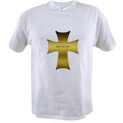 Golden Cross Value T-shirt