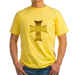 Golden Cross Yellow T-Shirt