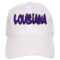 Louisiana Graffiti Baseball Cap
