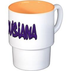 Louisiana Graffiti Coffee Cups