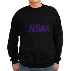 Louisiana Graffiti Dark Sweatshirt
