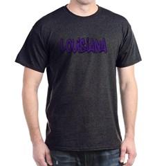 Louisiana Graffiti Dark T-shirt