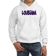 Louisiana Graffiti Hooded Sweatshirt