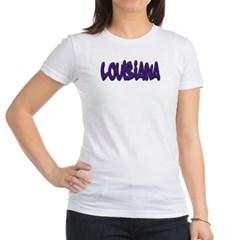 Louisiana Graffiti Junior Jersey T-Shirt