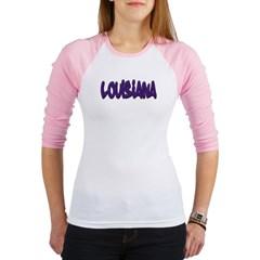 Louisiana Graffiti Junior Raglan T-shirt