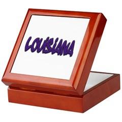 Louisiana Graffiti Keepsake Box