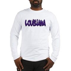 Louisiana Graffiti Long Sleeve T-Shirt