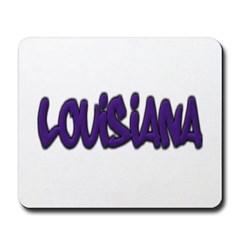 Louisiana Graffiti Mousepad