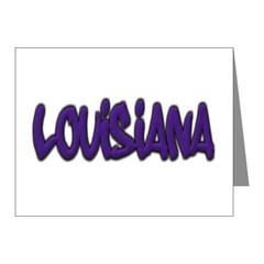 Louisiana Graffiti Note Cards (Pk of 10)