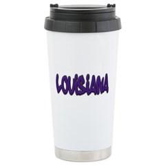 Louisiana Graffiti Travel Mug