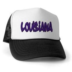 Louisiana Graffiti Trucker Hat