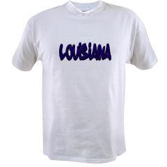 Louisiana Graffiti Value T-shirt