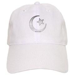 Silver Star and Crescent Baseball Cap
