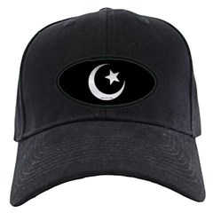 Silver Star and Crescent Baseball Hat
