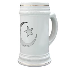 Silver Star and Crescent Stein
